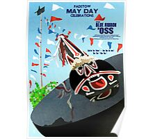 Padstow Cornwall May Day Oss Poster