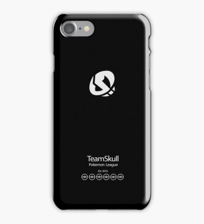 Team Skull (phone case cover version) iPhone Case/Skin