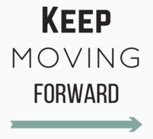Keep Moving Forward Kids Tee