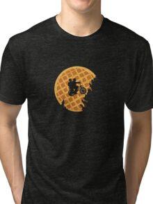 Moon's Waffle Stranger Things Tri-blend T-Shirt