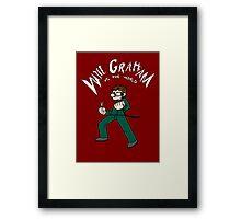 Will Graham VS the world Framed Print