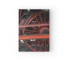 Traction Wheels Old Train Hardcover Journal