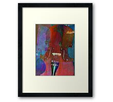 Violin Abstract Two Framed Print
