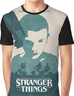 Car Stranger Things Graphic T-Shirt
