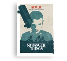 Car Stranger Things Canvas Print