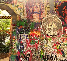 The Lennon Wall by Jordan Garvey