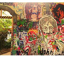 The Lennon Wall Photographic Print