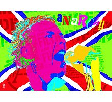 JOHNNY ROTTEN ANARCHY Photographic Print