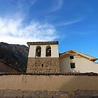Iglesia, Ollantaytambo by Elaine Stevenson
