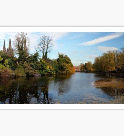The Minster Pool Lichfield UK Sticker