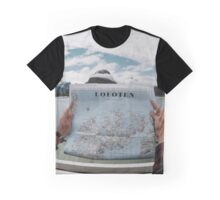 Lofoten Map Graphic T-Shirt