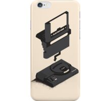 ElectroVideo Megadrive/Genesis (Black) iPhone Case/Skin