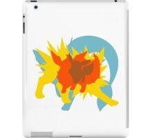 Eevee Pokemon Evolution silhouett iPad Case/Skin