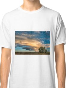 Light Storm On The Plains Classic T-Shirt