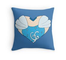 Cinderella's Heart Throw Pillow