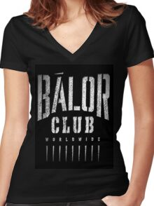 Balor Club Women's Fitted V-Neck T-Shirt