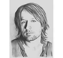 Keith Urban in Pencil Photographic Print