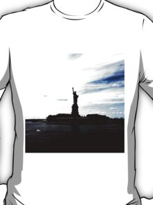 Silhouttes of Lady Liberty T-Shirt