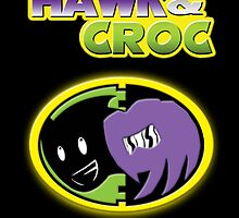 Hawk & Croc Lock-On shirt by psychoandy