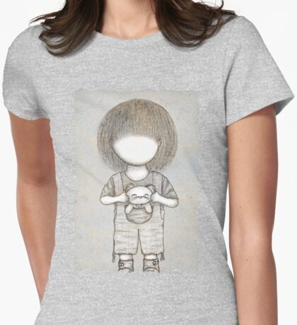 Going for a Walk~ Womens Fitted T-Shirt