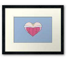 A Sleeping Heart Framed Print
