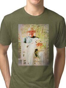 """Buddies""... prints and products Tri-blend T-Shirt"