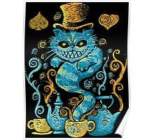 cat gothic Poster