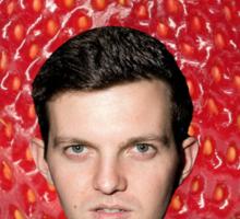 Strawberry Gang: Dillon Francis Sticker