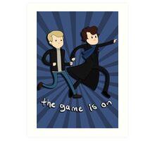 Sherlock: The Game Is On  Art Print