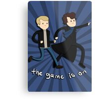 Sherlock: The Game Is On  Metal Print