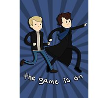 Sherlock: The Game Is On  Photographic Print
