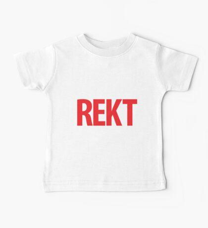 REKT Baby Tee