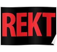 REKT Poster