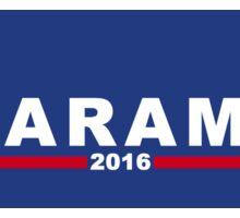 Harambe Presidential Sticker Sticker