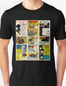 Vintage Comic Ads Unisex T-Shirt