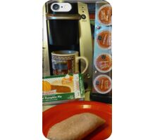 Tiny Pie and Keurig Coffee iPhone Case/Skin