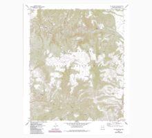 USGS TOPO Map Arizona AZ Willow Mtn SE 314131 1967 24000 One Piece - Short Sleeve