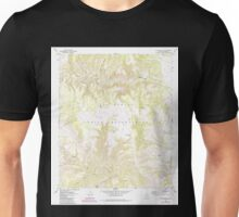 USGS TOPO Map Arizona AZ Willow Mtn SE 314131 1967 24000 Unisex T-Shirt
