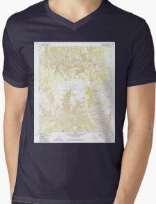 USGS TOPO Map Arizona AZ Willow Mtn SE 314131 1967 24000 Mens V-Neck T-Shirt