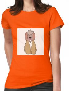Tibetan Terrier Womens Fitted T-Shirt