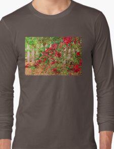 Cascading Bougainvillea Long Sleeve T-Shirt