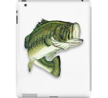 Large Mouth Bass iPad Case/Skin