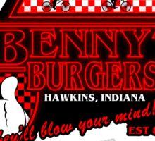 Stranger Burgers Sticker
