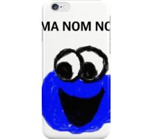Cookie monster iPhone Case/Skin
