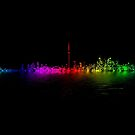 Toronto Rainbow Reflection by Brian Carson