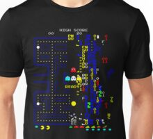Pacman Level 256 glitch Unisex T-Shirt