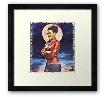 Martha Jones (vignette) Framed Print