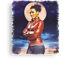 Martha Jones (vignette) Canvas Print