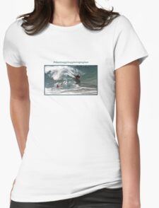 The Struggling Photographer Womens Fitted T-Shirt