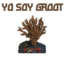 I Am Groot Spanish by zacharyskaplan